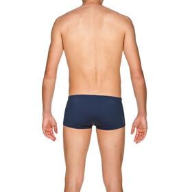 arena Solid Squared Pantalones cortos Hombre, azul